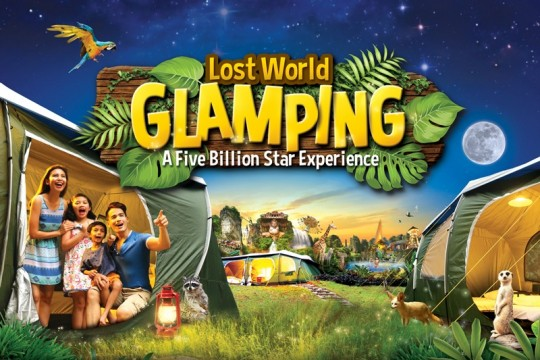 LOST WORLD GLAMPING PACKAGE FOR 2A + 2C